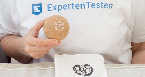 SAPURA Faszienball aus Naturkork im Test - auch für Allergiker geeignet