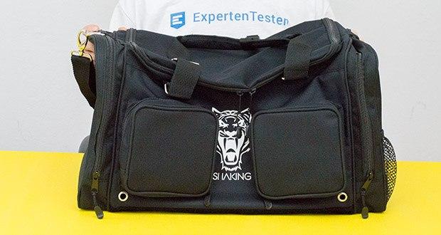 Sporttasche King Classic im Test - unter EU Arbeitsbedingungen gefertigt