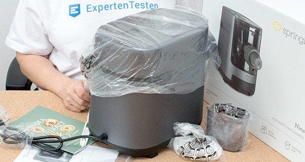 Springlane Automatische Nudelmaschine Nina im Test - vollautomatische Zubereitung