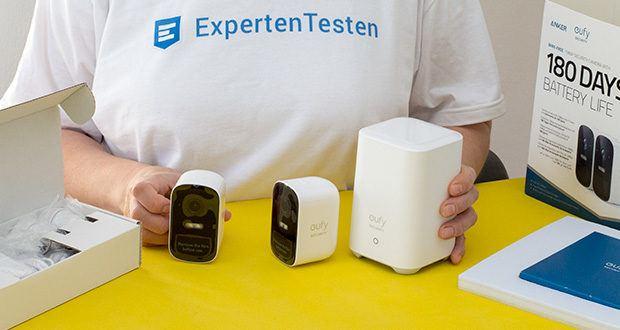 eufy Security eufyCam 2C by Anker im Test - mit AES 256-bit-Verschlüsselung gesichert
