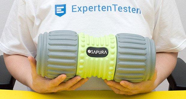 SAPURA Faszienrolle HEAL Wirbelsäule im Test - mit einer Größe von 32 x 15 cm ist die HEAL optimal dimensioniert