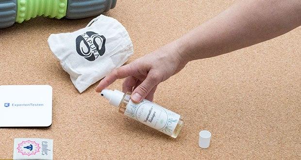 SAPURA Yogamatten Reiniger Bio im Test - beseitigt Gebrauchsspuren, Schweiß und unangenehme Gerüche im Handumdrehen