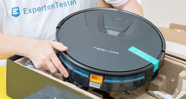 Tesvor T8 Staubsauger Roboter im Test - vielfältige Reinigungsprogrammen; jedes Zimmer hat einen entsprechenden Plan