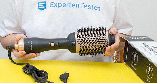 Aokebeey Multifunktions Warmluftbürste im Test - die Locken- und Glättungsbürste aus Nylon mit Nadel- und Büschelborsten ist ideal zum Glätten Ihres Haares