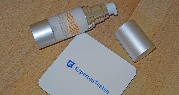 Augencreme von Arganoel Zauber im Test - 30 ml reichen für ca. 60 Tage bei 2x täglicher Anwendung (morgens und abends)