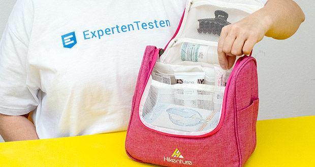 HIKENTURE Kulturtasche im Test - ermöglicht Ihnen alle Ihre Toilettenartikel ordentlich zu verstauen