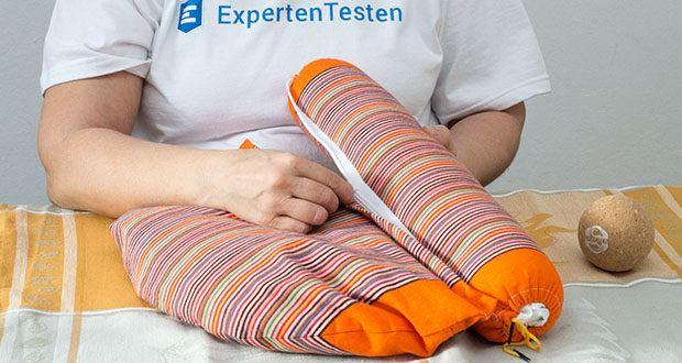 SAPURA Meditationskissen Yoga im Test - Waschmaschinenfester Bezug und separates Innenkissen