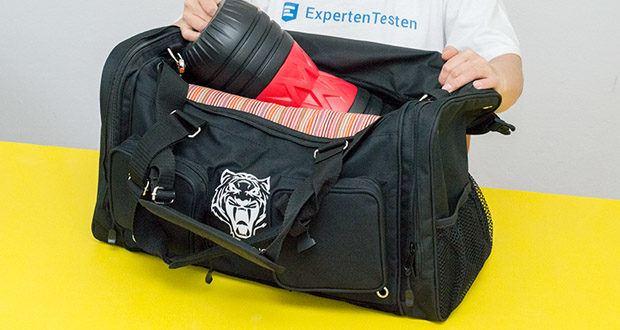 Sporttasche King Classic im Test - zeichnet sich durch ihre vielen Features und einem schlichten Design aus