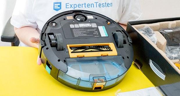 Tesvor T8 Staubsauger Roboter im Test - Multi-Speed-Inverter-Sog, starke Sammelbürste, importierter bürstenloser Motor