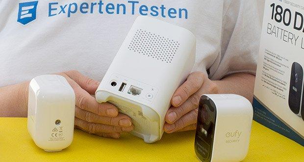 eufy Security eufyCam 2C by Anker im Test - Aufzeichnungen können mühelos per 16GB eMMC gespeichert werden