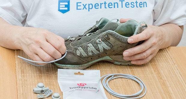 BODYPRIDE Premium Schnürsenkel mit Schnellverschluss im Test - für jeglichen sportlichen Einsatz und natürlich auch im Alltag bestens
