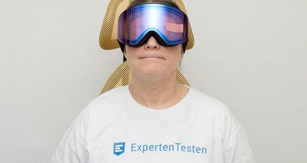 MessyWeekend Unit Skibrille mit photochromer XEp Linse im Test - die Sicht bietet hohen Kontrast und Farbintensität