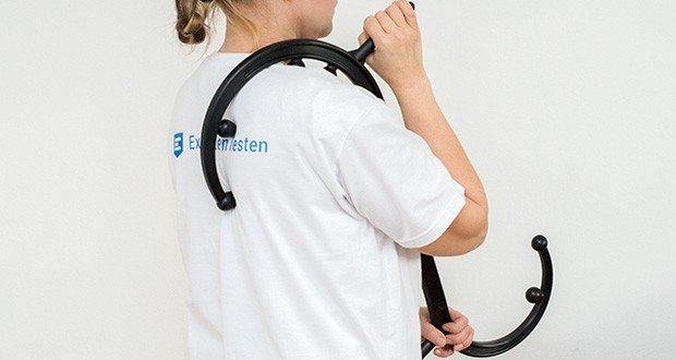 SAPURA Triggerpunkt Massagegerät im Test - hilft bei Schmerzen in Schultern, Nacken, Rücken, Brust, Fuß, Beinen oder der Hüfte