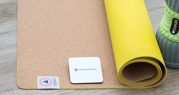 SAPURA Yogamatte Kork und Naturkautschuk im Test - Yoga auf Naturmaterial – Ohne PVC und Latex – schadstofffrei