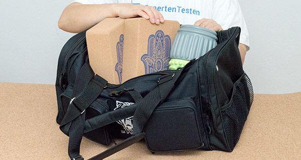 Sporttasche King Classic im Test - viele Fächer für Ordnung in deiner Tasche
