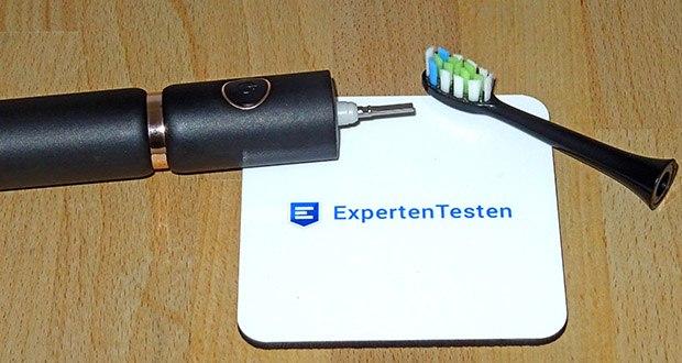 Fairywill Elektrische Zahnbürste im Test - eine Aufladung hält min. 30 Tagen nach einer 4-Stündigen Aufladung