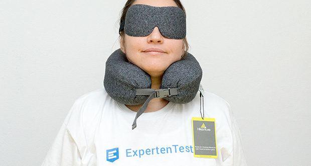 HIKENTURE Reise Nackenkissen mit Schlafmaske im Test - ein Muss für nicht nur Reisen, sondern auch Alltag