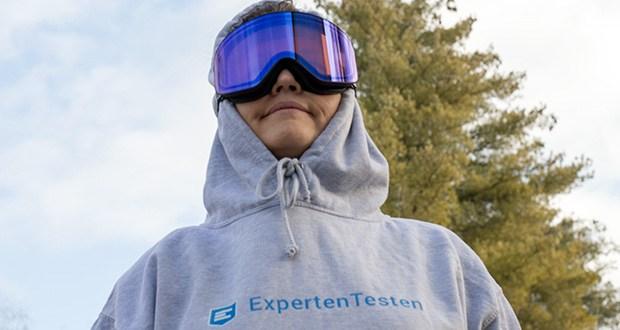 MessyWeekend Unit Skibrille mit photochromer XEp Linse im Test - Nano-Beschichtung zur Maximierung der Kratzfestigkeit, sowie eine klare super hydrophobe Beschichtung für Wasserabweisung und einfache Reinigung