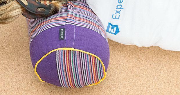 SAPURA Meditationskissen Yoga im Test - auch verwendbar als Rücken- oder Nackenstütze