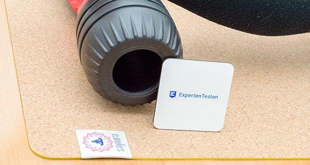 SAPURA Yogamatte Kork und Naturkautschuk im Test - sicherer Stand auch bei schweißtreibenden Übungen