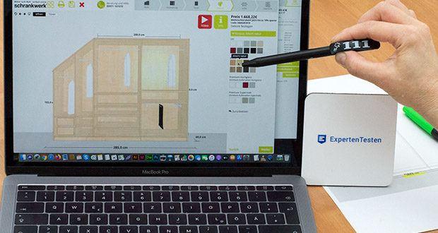 schrankwerk.de online Kleiderschrank Konfigurator im Test - Dekore festlegen
