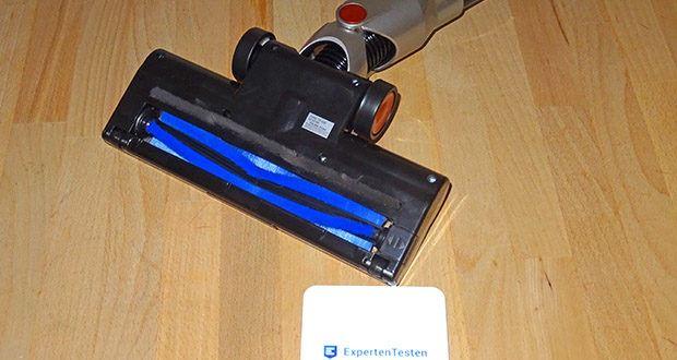 TurboTronic Beutelloser Akku Staubsauger im Test - kann als Boden- oder Handstaubsauger verwendet werdet