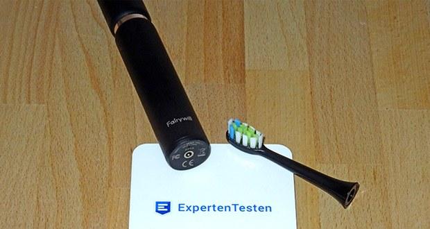 Fairywill Elektrische Zahnbürste im Test - 2-Minuten-Timer mit regelmäßigen Zwischeneinschüben von 30 Sekunden hilft Ihnen dabei, sich Putzgewohnheiten wie Ihr Zahnarzt anzueignen