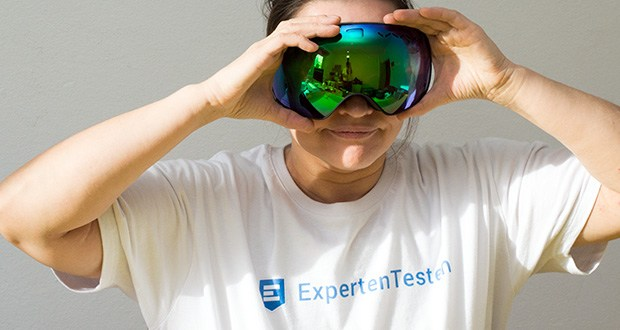 MessyWeekend Float Skibrille im Test - Tolles Design, perfekte Passform