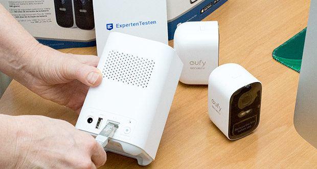 eufy Security eufyCam 2C by Anker im Test - verbinden Sie Ihre Überwachungsgeräte mit Google Assistant oder Amazon Alexa - für noch mehr Kontrolle