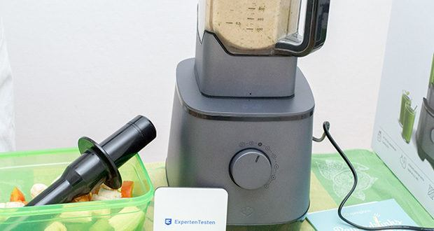 Springlane Hochleistungsmixer Hanno im Test - dank Überhitzungsschutz kann dabei garantiert nichts schiefgehen