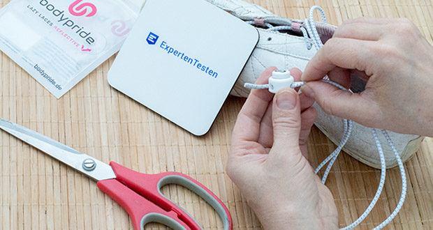BODYPRIDE Premium Schnürsenkel mit Schnellverschluss im Test - reflektierende Schnürsenkel optimal geeignet für alle Schuhe: Sport- und Laufschuhe, sowie Alltagsschuhe, Arbeitsschuhe und Kinderschuhe