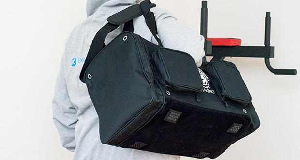 Sporttasche King Classic im Test - egal ob im Gym oder auf Reisen, die King Classic unterstützt dich in jeder Situation