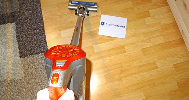 TurboTronic Beutelloser Akku Staubsauger 120 Watt im Test