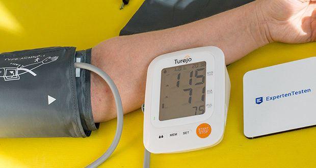 Turejo Oberarm Blutdruckmessgerät im Test - ist von der FDA zugelassen und bietet Ihnen genaueste Messergebnisse
