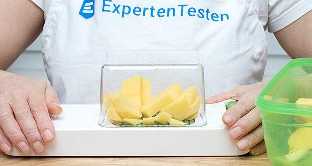 Alligator Chopper Set 2-in-1 im Test - in Sekundenschnelle schneiden Sie Zwiebeln und andere Gemüse in feinste, gleichmäßige Würfel