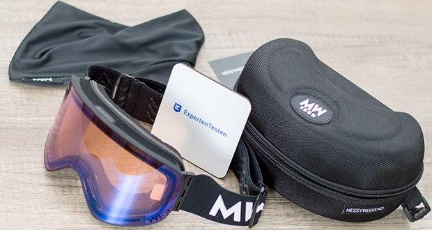 MessyWeekend Unit Skibrille mit photochromer XEp Linse im Test - für jedes Level geeignet