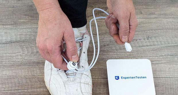 BODYPRIDE Premium Schnürsenkel mit Schnellverschluss im Test - spare kostbare Zeit im Alltag und Sport, wo du früher mehrmals am Tag Schuhe gebunden hast