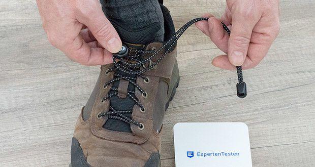 BODYPRIDE Premium Schnürsenkel mit Schnellverschluss in 12 verschiedenen Farben im Test