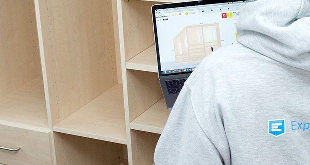 schrankwerk.de online Kleiderschrank Konfigurator im Test - bestellen Sie einfach die benötigten Teile nach