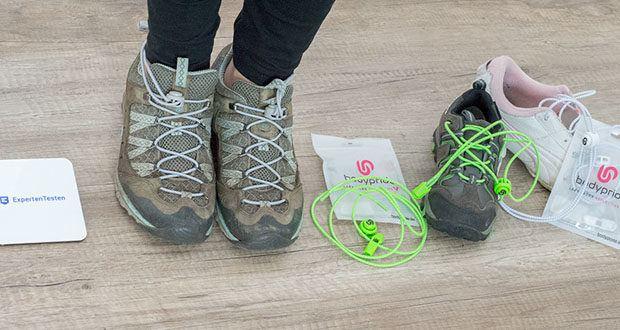 BODYPRIDE Premium Schnürsenkel mit Schnellverschluss im Test - designed in Deutschland von Experten, die selber aus dem Sport -und Gesundheitsbereich kommen