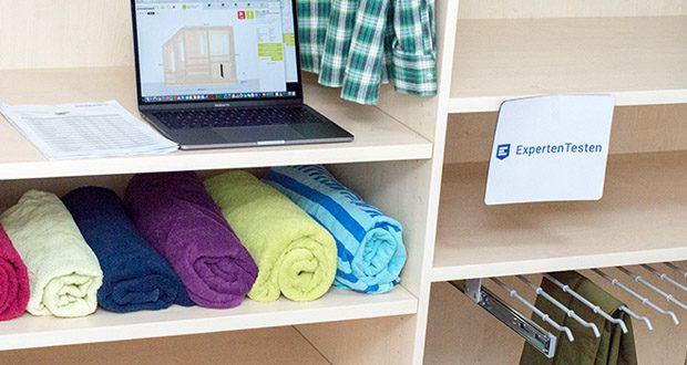 schrankwerk.de online Kleiderschrank Konfigurator im Test - bietet die Möglichkeit an, Möbel nach individuellen Wünschen zu gestalten