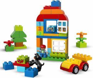 Im Lego Test und Vergleich: Bestes für 2-jährige - Lego Duplo 10812 - Bagger und Lastwagen