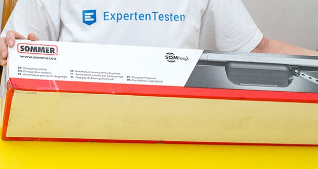 Sommer Garagentorantrieb S9080 Base+ im Test - Made in Germany