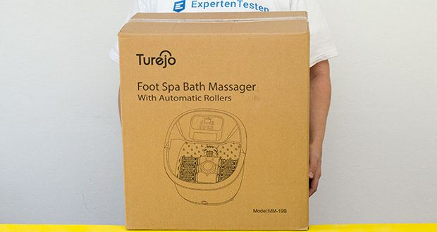 Turejo blue foot spa Fußbad im Test - 12 Monate Garantie