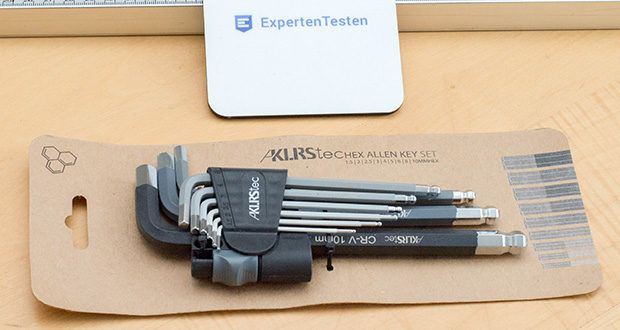 KLRStec Innensechskant Imbusschlüssel Set 9-teilig im Test - weisen die Schlüssel eine besonders hohe Robustheit sowie geringen Verschleiß auf
