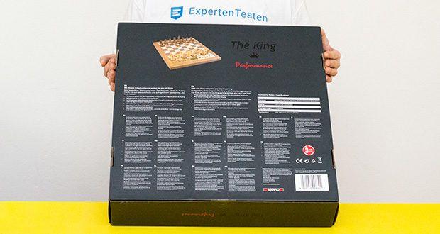 Millennium Schachcomputer The King Performance M830 im Test - enthält das legendäre Schachprogramm The King von Johan de Koning