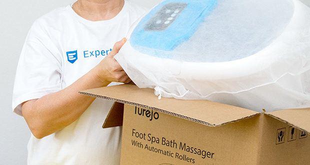 Turejo blue foot spa Fußbad im Test - 3 automatische Massagemodi bieten Ihnen verschiedene Freudensinne