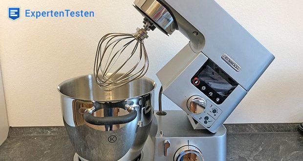 Kenwood Cooking Chef Gourmet KCC9060S Küchenmaschine im Test - die Kochzeiten beim Induktionskochen sind sehr viel kürzer und Sie können die Temperatur im Bereich von 20° - 180°C exakt einstellen