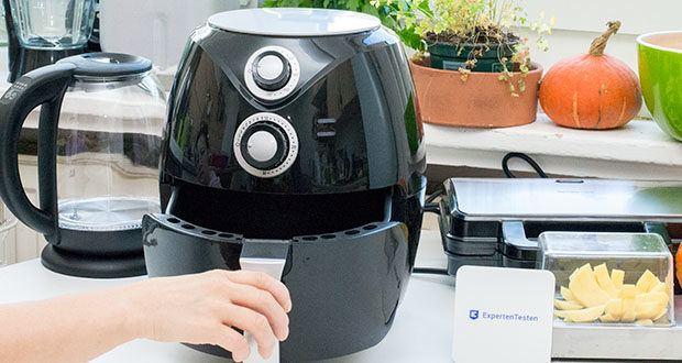 Emerio Heißluftfritteuse im Test - durch die Heißluft-Technologie entstehen deutlich weniger unangenehme Gerüche