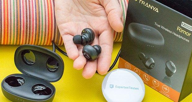 Tranya Rimor Bluetooth Kopfhörer im Test - mit LTCC Antenne